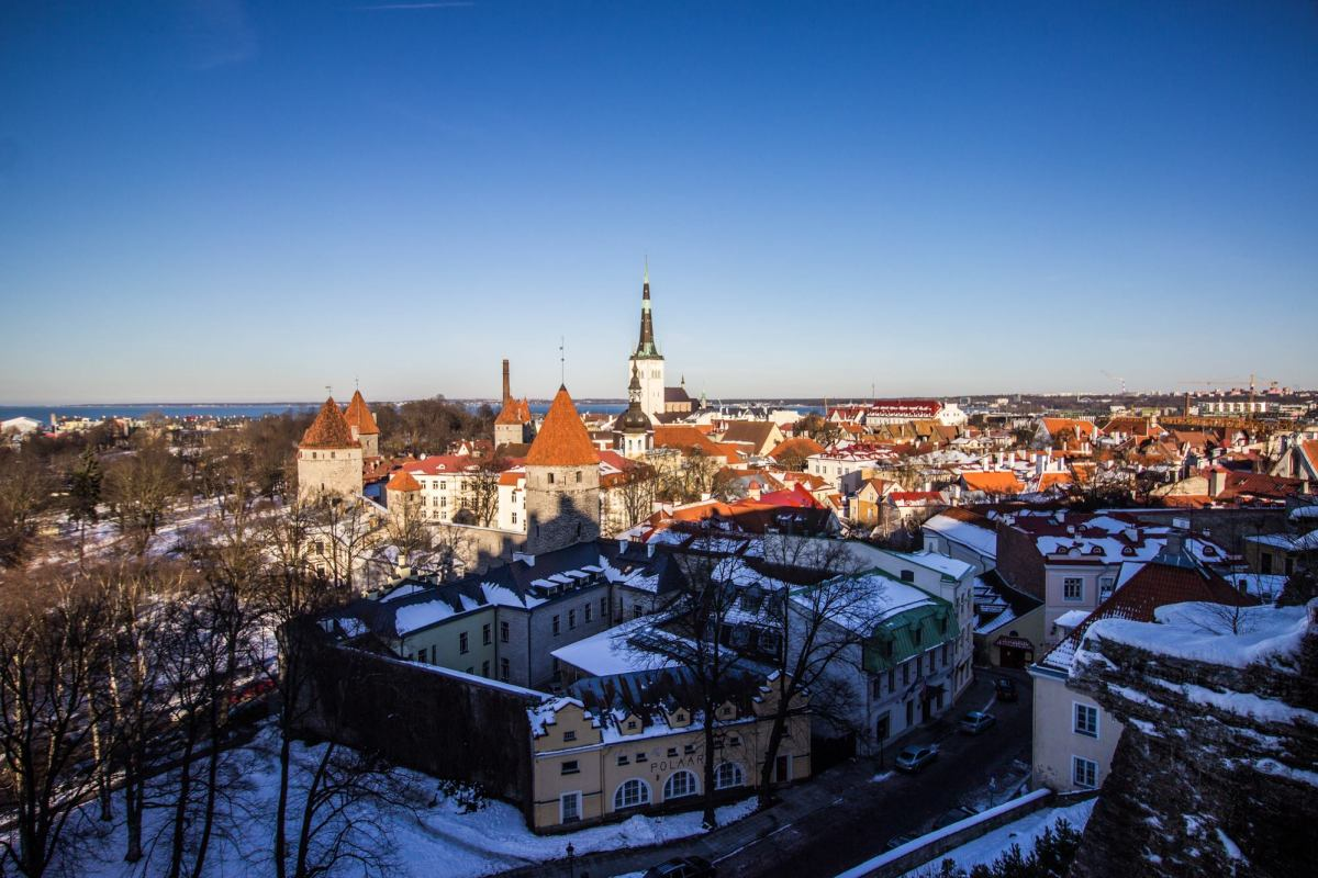Day trip to Tallinn, where the old meets new