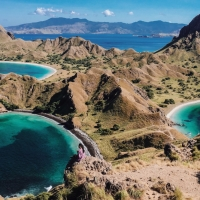 Beautiful hike at Padar Island